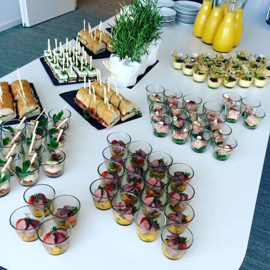 Firmencatering und Business Catering Frankfurt Catering Beispiele