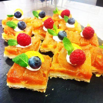 Catering Beispiele Tarte Tatin ~ FLOW THE KITCHEN