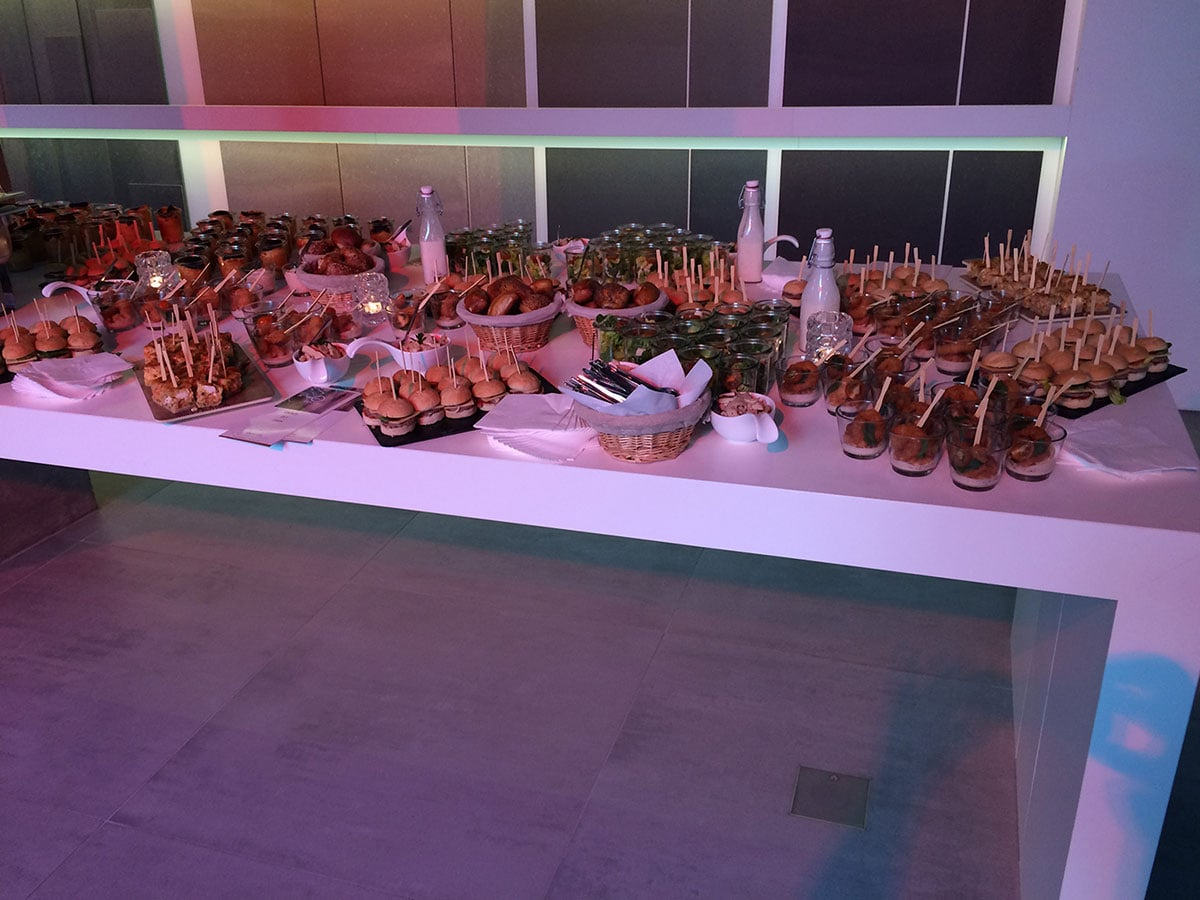 Business Catering: Buffet Catering Beispiele