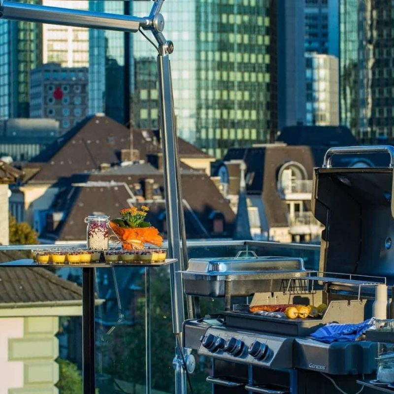 Rooftop Catering auf der Location Frankfurt am Main - FLOW THE KITCHEN