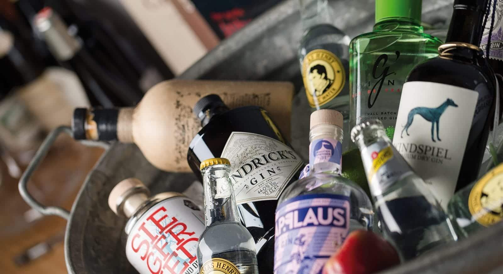 Cocktail Catering Frankfurt - Gin Tasting Incentive Programme für Mitarbeiter