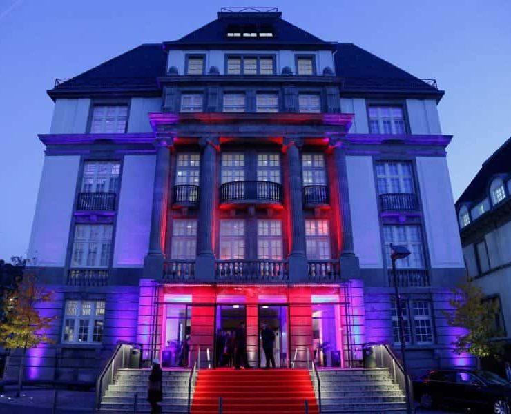 Außergewöhnliche Location. Veranstaltungsräume mieten. Filmmuseum Frankfurt am Main.