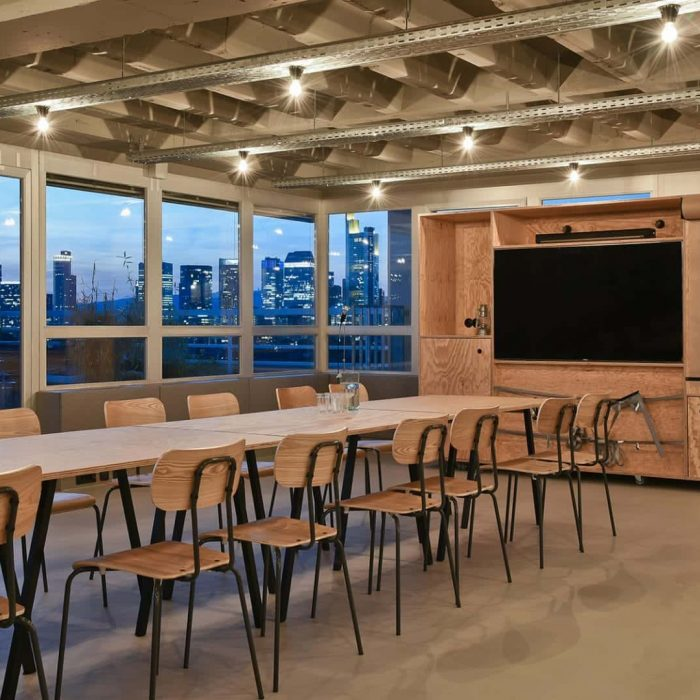 Location für Meetings. Workshops. Tagungslocation. Frankfurt am Main