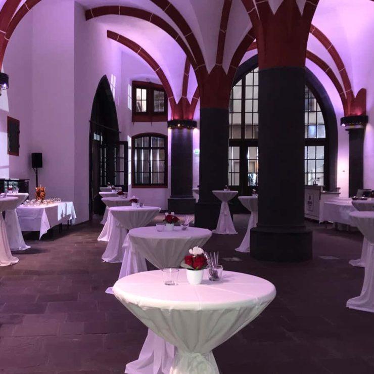 Veranstaltungsraum in Frankfurt am Main. Location für Hochzeiten.