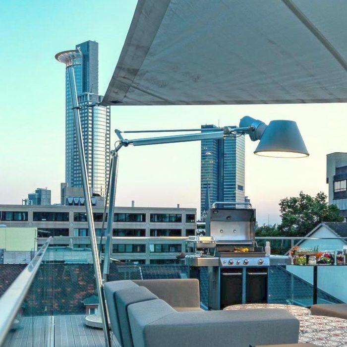 Frankfurt am Main: Rooftop Bar für Events
