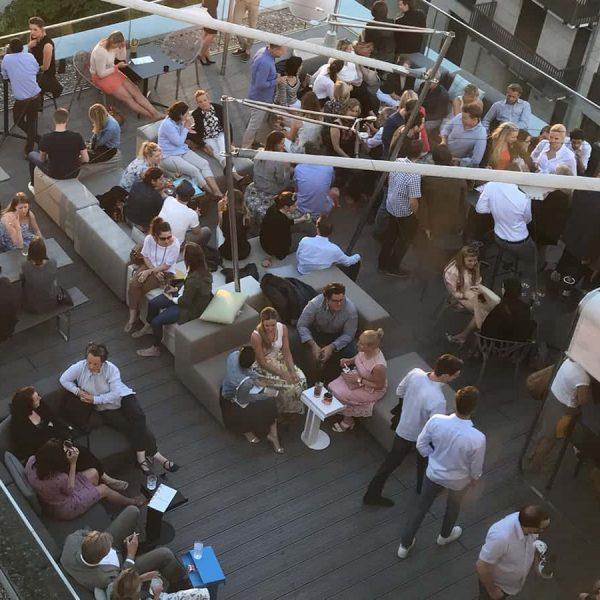 Rooftop Location: Firmenfeier, Betriebsausflug u. Sommerfest mit Barbeque und After-Work Events.