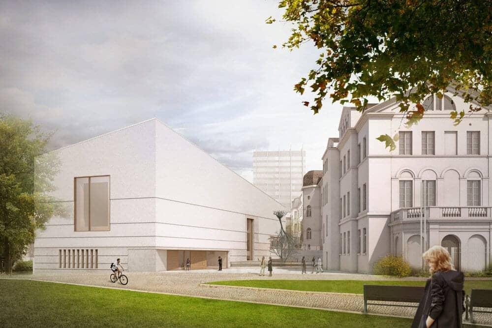 Jüdisches Museum mieten - Eventlocation Jüdisches Museum Bertha-Pappenheim-Platz 1, 60311 Frankfurt am Main | FLOWDELI.de