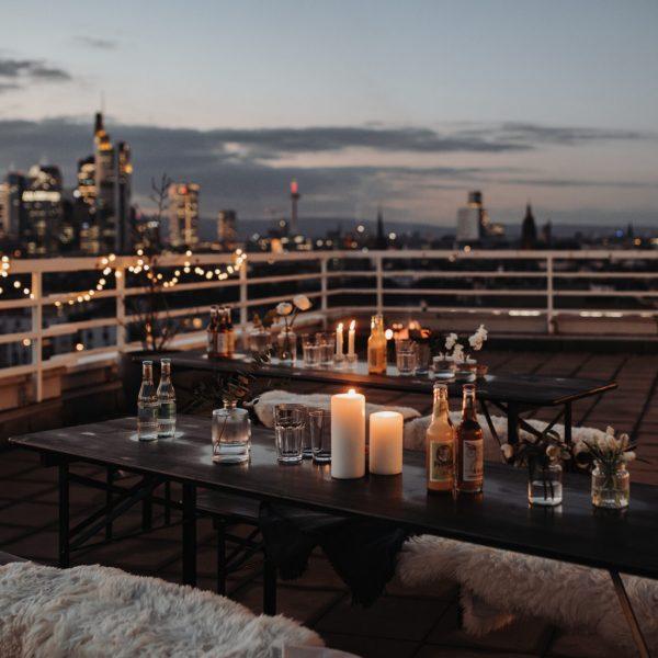 Rooftop Location für Hochzeiten